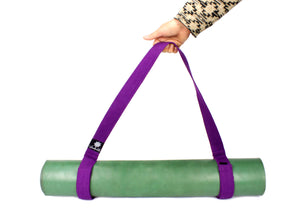 Yoga mat strap-Yoga Accessories-Yoga Accessories, Yoga Straps-PURPLE-