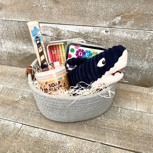 Wild Ocean Child Basket