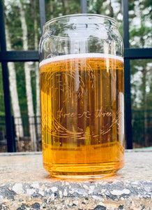 Coastal Can Pint Glass