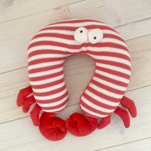 Don't Be Crabby Travel Pillow