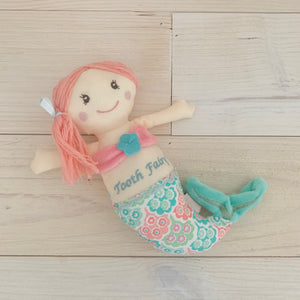 Mermaid Tooth Fairy Plush