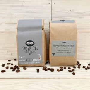 Snowy Owl Coffee Roasters: JAWS