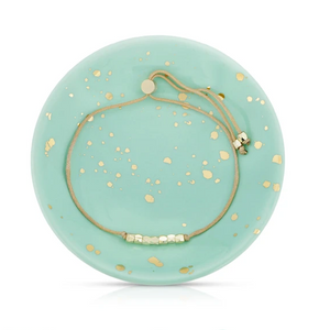 Splash of Good Vibes- Bracelet + Dish Set