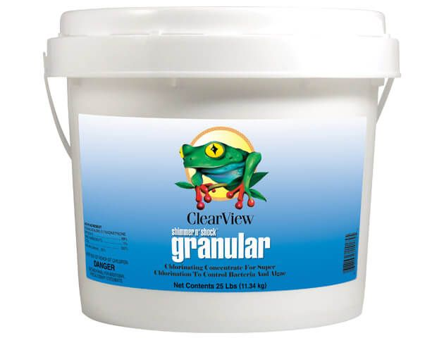 ClearView Shimmer N' Shock Granular