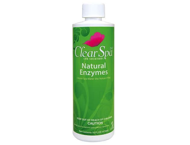 ClearSpa Natural Enzymes Pint (Item # CSLNEPT12)