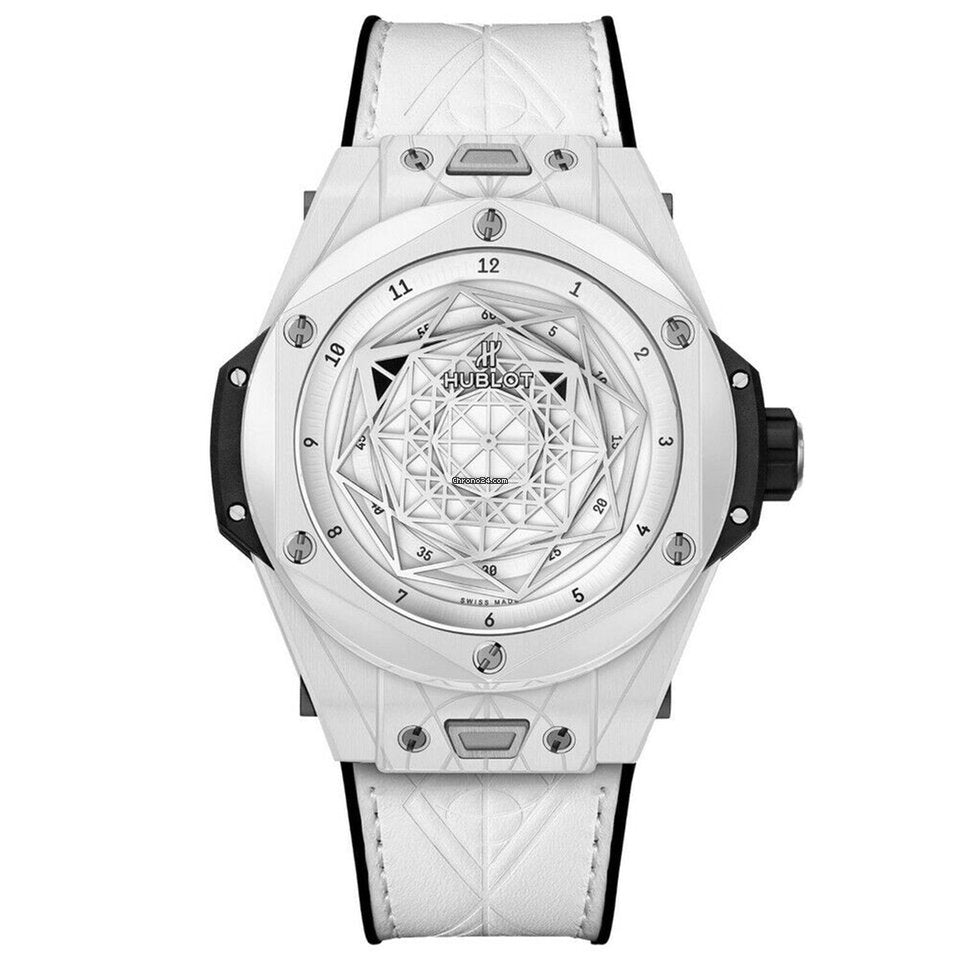 Hublot BIG BANG UNICO SANG BLEU White LIMITED EDITION 200 PIECES 415.HX.2027.VR.MXM19