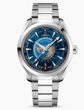 Load image into Gallery viewer, Omega Seamaster Aqua Terra World Timer Steel