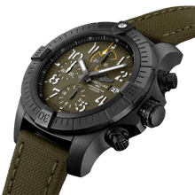 Load image into Gallery viewer, Breitling Avenger Night Mission Titanium Green V13317101L1X1