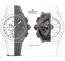 Load image into Gallery viewer, Zenith DEFY 21 Land Rover Limited Edition 250pcs 97.9000.9004/01.R787