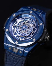 Load image into Gallery viewer, Hublot BIG BANG UNICO SANG BLEU LIMITED EDITION 200 PIECES 415.EX.7179.VR.MXM19
