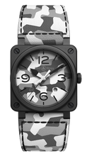 Load image into Gallery viewer, Bell & Ross BR 03-92 WHITE CAMO Limited Edition BR0392-CG-CE/SCA