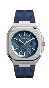 Bell & Ross BR 05 SKELETON BLUE Limited Edition 500 BR05A-BLU-SKST/SRB