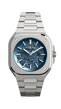 Load image into Gallery viewer, Bell & Ross BR05 Skeleton Blue on Steel BR05A-BLU-SKST/SST