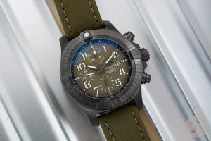 Breitling Avenger Night Mission Titanium Green V13317101L1X1