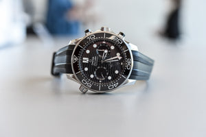 Omega Seamaster Diver 300m Chronograph Black on Rubber 210.32.44.51.01.001