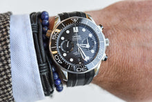 Load image into Gallery viewer, Omega Seamaster Diver 300m Chronograph Black on Rubber 210.32.44.51.01.001