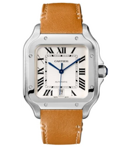 Load image into Gallery viewer, Cartier Santos White WSSA0018