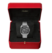 Load image into Gallery viewer, Cartier Santos Grey WSSA0037