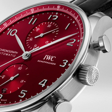 Load image into Gallery viewer, IWC PORTUGIESER CHRONOGRAPH RED IW371616