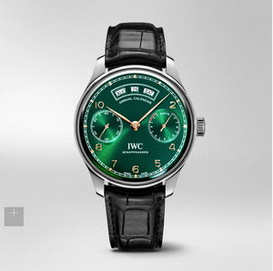 IWC Portuguese Annual Calendar 150 Limited Edition Green IW503510