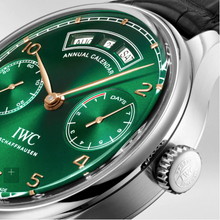 Load image into Gallery viewer, IWC Portuguese Annual Calendar 150 Limited Edition Green IW503510