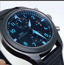 Load image into Gallery viewer, IWC Pilot Chronograph Top Gun Boutique Edition 500 LE Blue IW388003