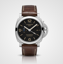 Load image into Gallery viewer, Panerai Luminor 1950 3 Days GMT 44m PAM01320