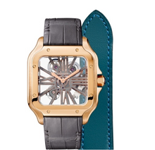 Load image into Gallery viewer, Cartier SANTOS SKELETON ROSE GOLD WHSA0010
