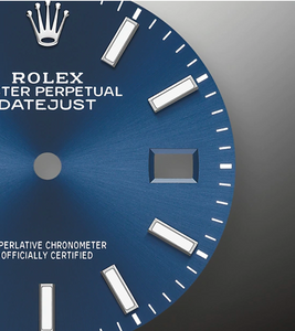 Rolex Datejust 126234 Blue dial on Jubilee