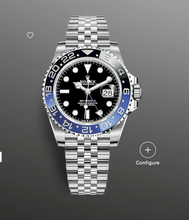 "Load image into Gallery viewer, Rolex GMT-Master II 126710BLNR ""Batman"""