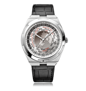 Vacheron Constantin Overseas World Time White Dial Discontinued