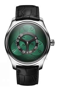 H.Moser & Cie. ENDEAVOUR FLYING HOURS Green 100 LE