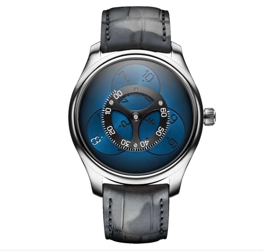 H.Moser & Cie. ENDEAVOUR FLYING HOURS Blue 60 Limited Piece