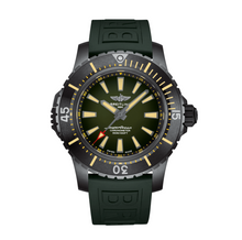 Load image into Gallery viewer, Breitling SUPEROCEAN AUTOMATIC 48 DLC-Coated Titanium - Green