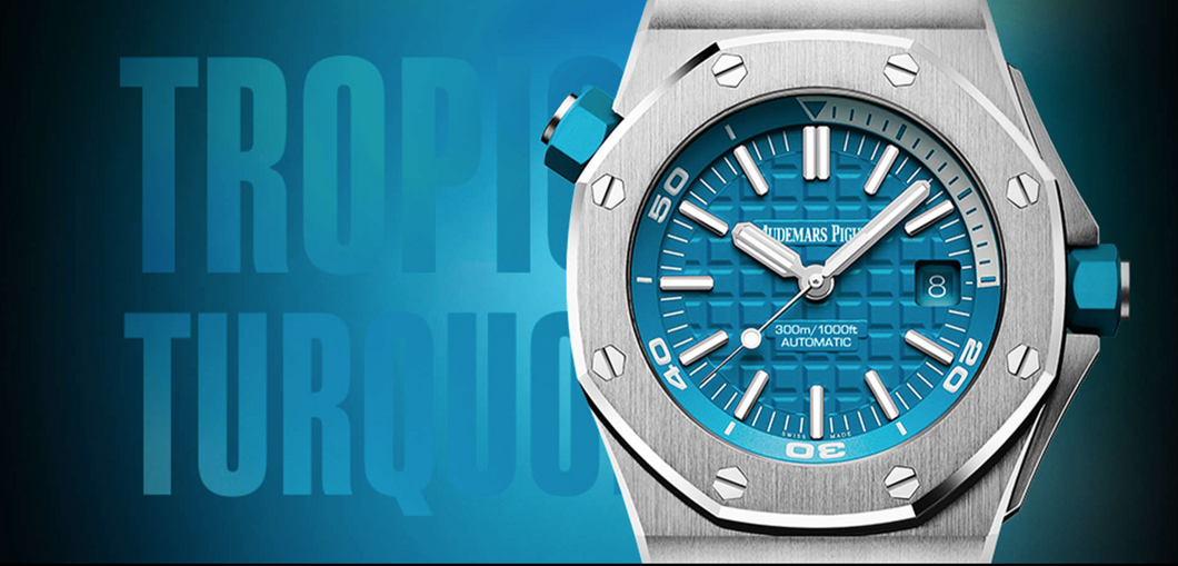 Audemars Piguet Royal Oak Offshore Diver Tropical Turquoise