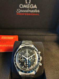 Omega Speedmaster Tokyo Olympic 2020 Black and Yellow Pre-owned 522.20.42.30.01.001