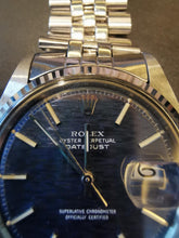 Load image into Gallery viewer, Rolex Datejust 1601 Blue Brick / Mosiac Dial 1601