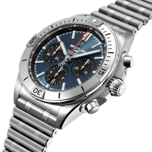 Load image into Gallery viewer, Breitling Chronomat Blue B01 42mm AB0134101C1A1