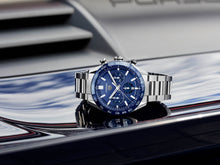 Load image into Gallery viewer, TAG Heuer CARRERA BLUE CHRONOGRAPH CBN2A1A.BA0643