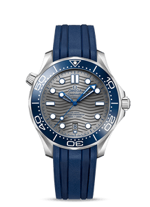 Omega SEAMASTER DIVER 300M Grey on Rubber 210.32.42.20.06.001