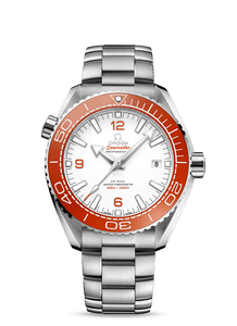 Omega Seamaster Planet Ocean 600m Orange on Steel 215.30.44.21.04.001