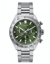 Load image into Gallery viewer, TAG Heuer Carrera Chronograph Green CBN2A1A.BA0643
