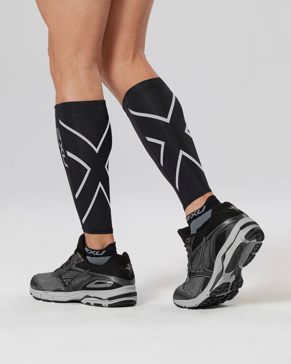 Compression Calf Guards Unisex Black