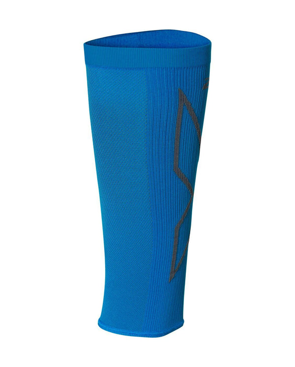 Badminton X Compression Calf Sleeves Unisex Blue