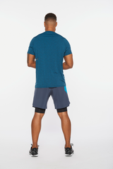 Motion Tee Mens Blue