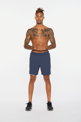 "Aero 7"" Shorts Men Blue"