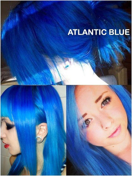 Atlantic Blue Directions Semi-Permanent Hair Colour