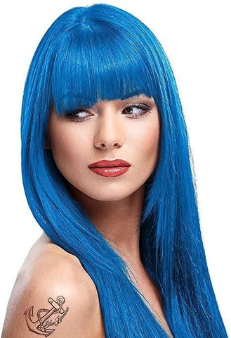 Lagoon Blue Directions Semi-Permanent Hair Colour