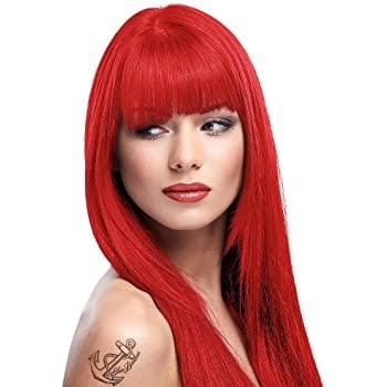 Coral Red Directions Semi-Permanent Hair Colour