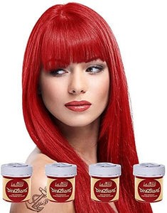 Pillarbox Red Directions Semi-Permanent Hair Colour